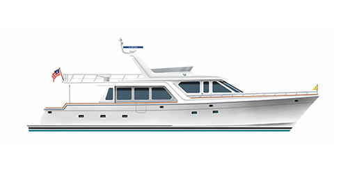Offshore 66-72 Pilothouse